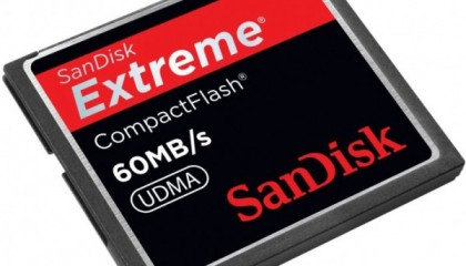 CF (Compact Flash) Extreme – Sandisk