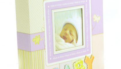 Álbum para 60 Fotos 15×21 – Estampado Baby