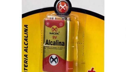 Bateria Alcalina MOX 9V