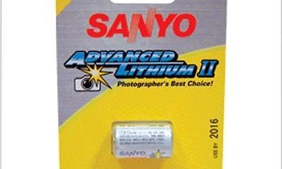 Bateria Sanyo CR2