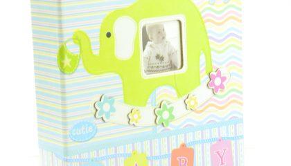 Álbum para 200 Fotos 10×15 – Baby Elefante Verde
