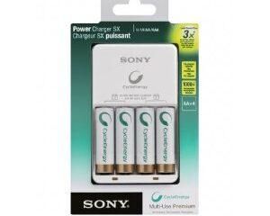 Carregador Sony de pilhas AA