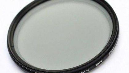 Filtro de Densidade Variável NDX 67mm