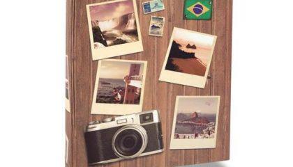 Álbum para 240 Fotos 10×15 – Viagem Fotografias