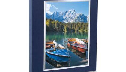 Álbum para 240 Fotos 10×15 – Paisagem Azul Marinho