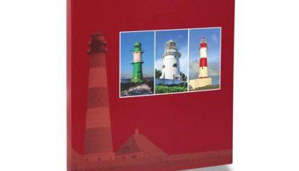Álbum para 240 Fotos 10×15 – Paisagem Vermelho