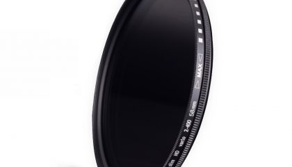 Filtro ND Variável Multi Proteção 12 Camadas 58MM