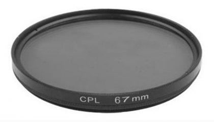 Filtro Polarizador Circular 67 MM
