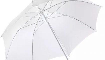 Sombrinha Difusora Branca para Fotografia – Diámetro 101CM
